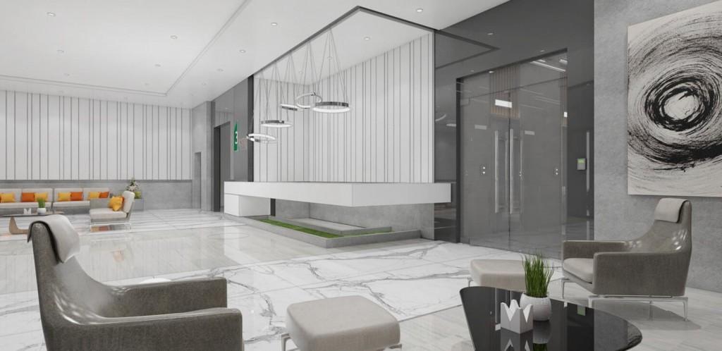 3Torre Lorenzo - Residential Lobby