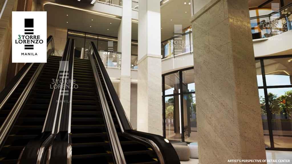 3Torre Lorenzo - Retail Atrium