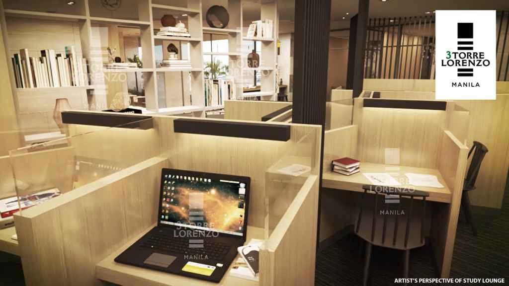 3Torre Lorenzo - Study Lounge