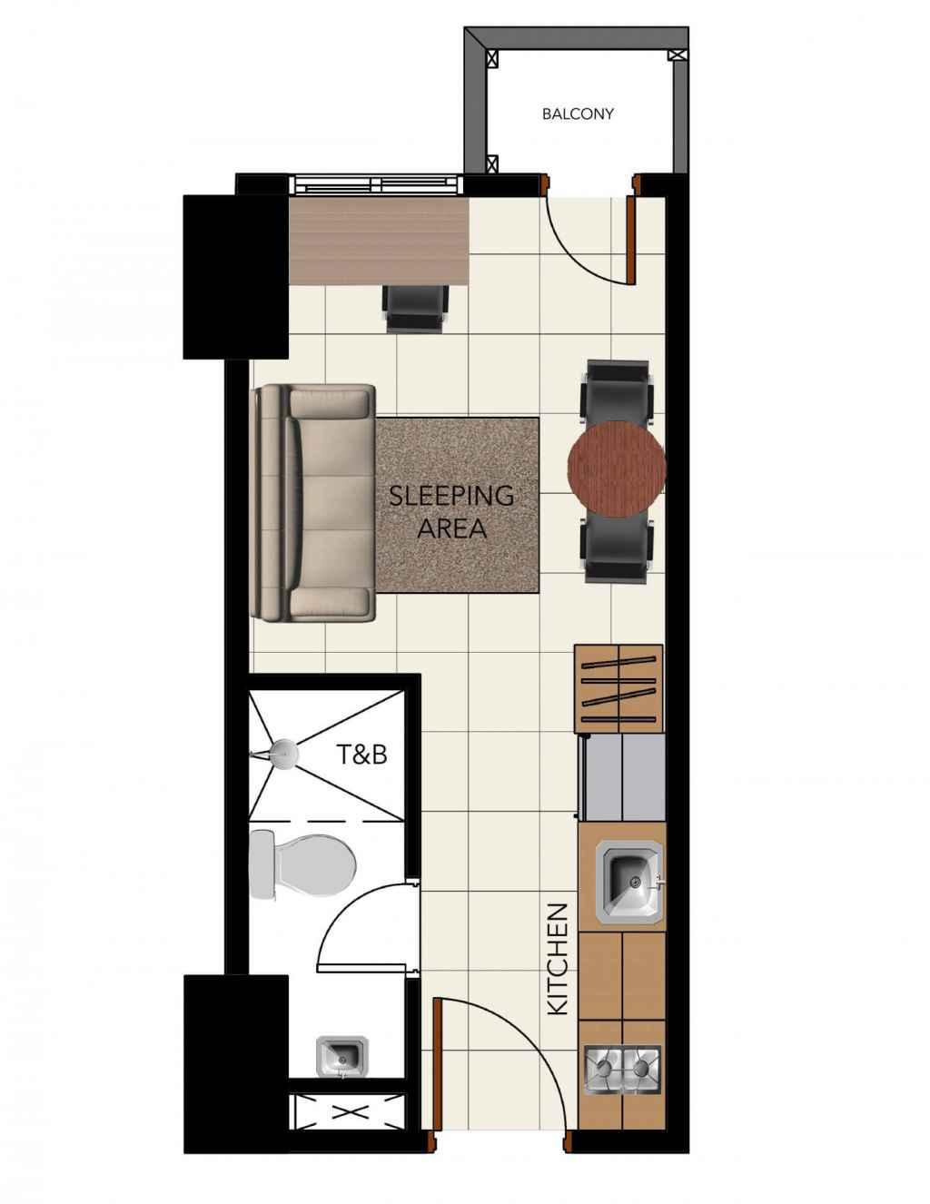 3Torre Lorenzo - Studio unit
