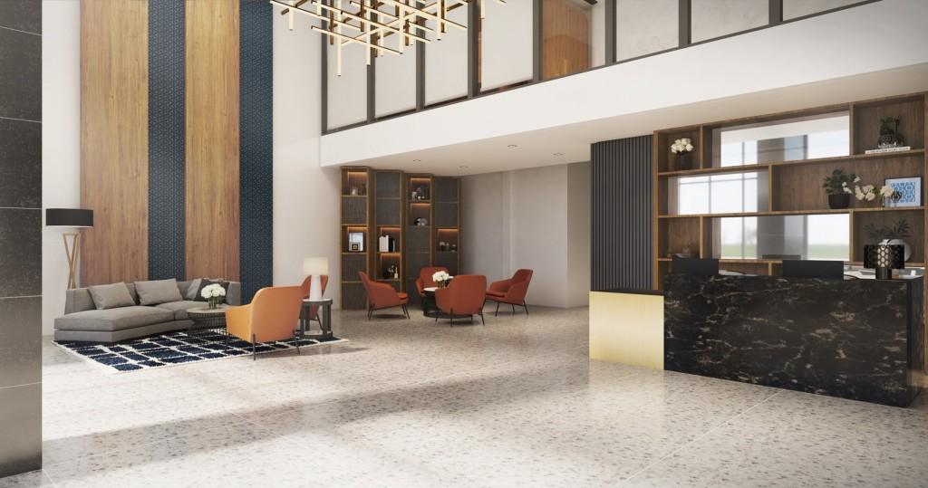Torre Lorenzo Loyola - Residential Lobby
