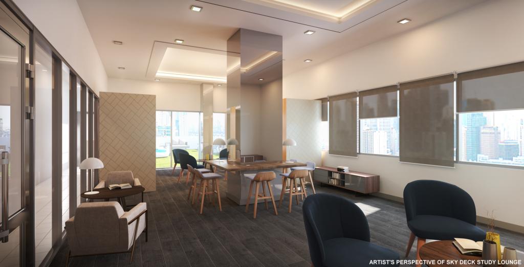 Torre Lorenzo Loyola - Sky Deck Residents Lounge
