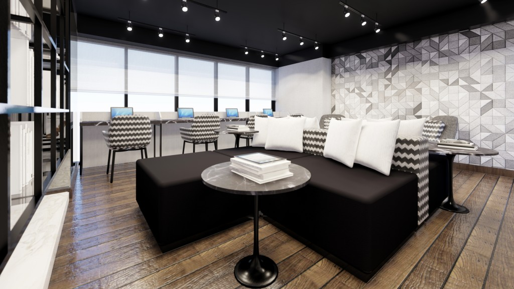 Artist's Perspective of Torre Lorenzo Malate - Meeting Room