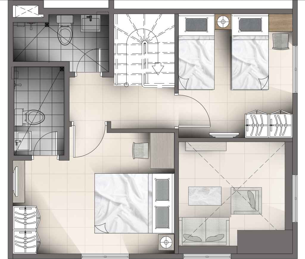 Torre Lorenzo - The Residences at TLM - 3BR Loft Unit