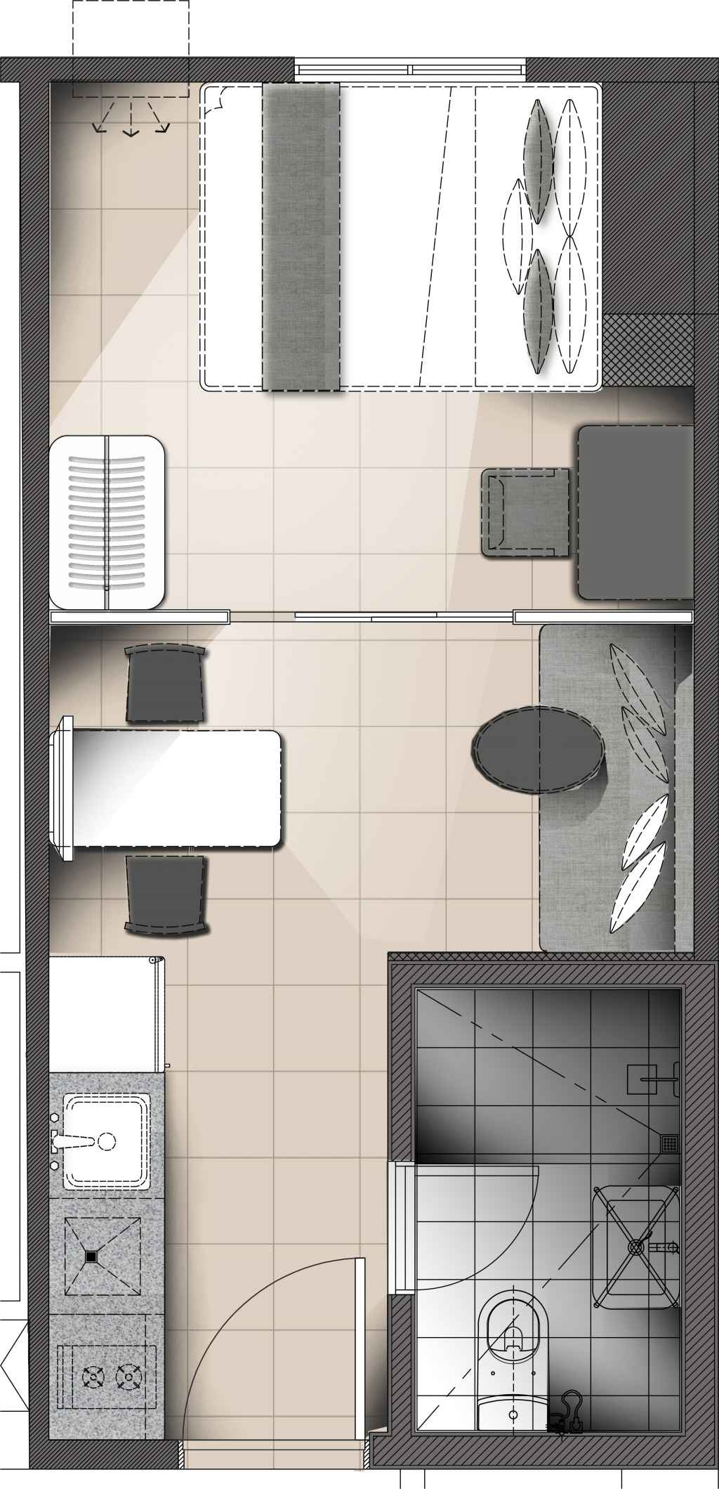 Torre Lorenzo - The Suites at TLM - 1BR Unit