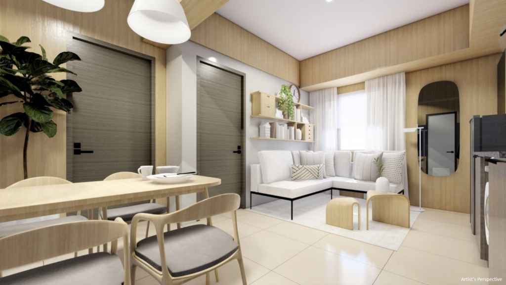 Artist's Perspective of Torre Lorenzo Malate - 2BR Unit
