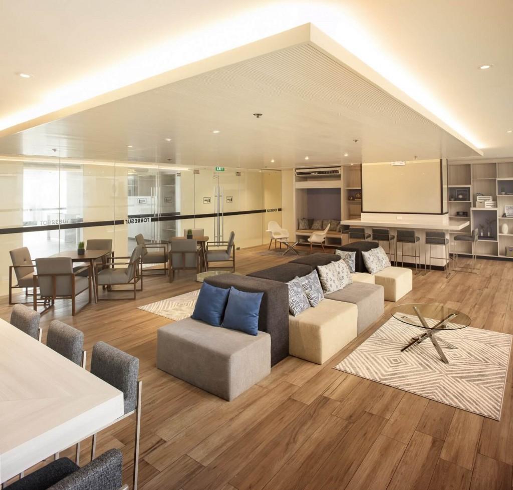 actual photo of Torre Lorenzo Sur Study Lounge