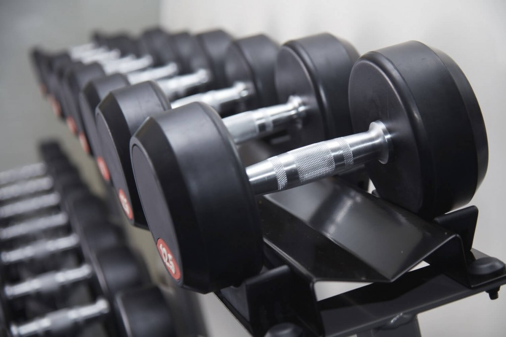 Actual Photo of Gym Weights